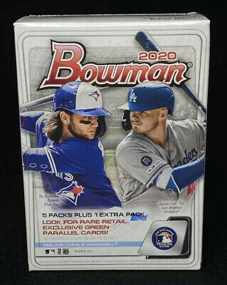 Bowman BLASTER BOX 2020 Baseball TOPPS Factory Sealed - IN HAND **200 Available*