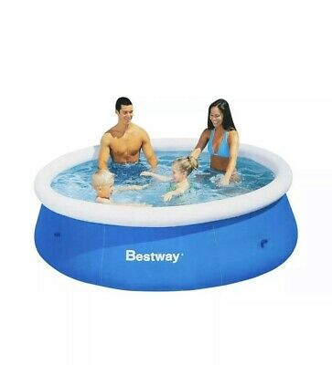 Bestway Fast Set 8ft Swimming Paddling Pool❇️💯trusted Seller❇️FREE DELIVERY❇️