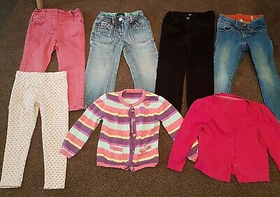 Girls Age 2-3 Years Cardigan Trouser Jean Bundle 💜 JOULES 💜 BODEN 💜NEXT plus