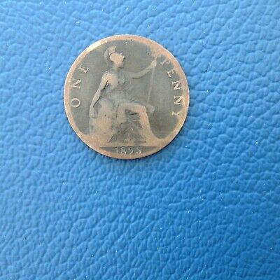 British Victoria one penny 1895