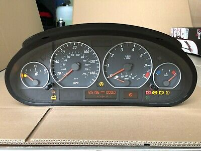 BMW E46 330Ci Coupe Convertible Instrument Cluster Speedometer