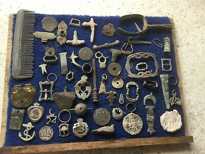 Large Lot Of Detecting Finds 11