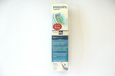 Philips Sonicare Standard ProResults Toothbrush Heads - 4 Replacement Heads