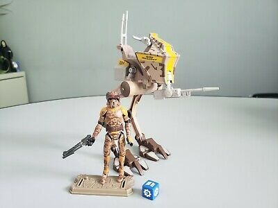 Star Wars The Clone Wars AT-RT With Clone Trooper Boil Battle Of Geonosis