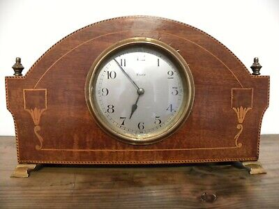 Edwardian Japy Freres  8 Day Mantle Clock