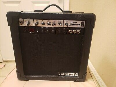 ZOOM FIRE-15 Modelling 15W Guitar AMPLIFIER with Effects AMP - NO CHORDS