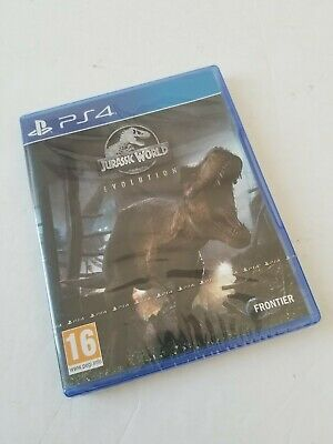 Jurassic World Evolution Video Game for Sony PlayStation 4 (PS4) *NEW & SEALED*