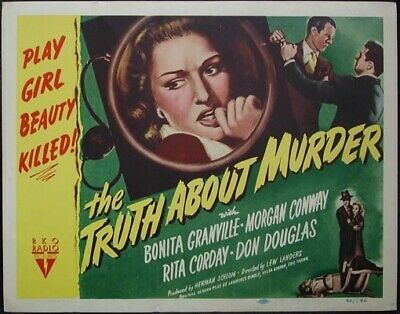 """16mm Feature Film """"The Truth About Murder"""""""