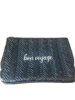 Unbranded Bon Voyage Makeup Bag Black EUC