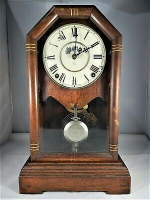 Seth Thomas Lyre Movement 1886 Mantel/Shelf American Clock