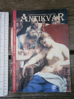 SERBIA MAGAZINE ANTIQUES antiquity classical period CONTEMPORARY ART APPLIED '01