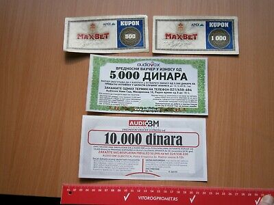 SERBIA Betting SPORT GAME RESULTS COUPON VOUCHER LOT AUDIO DEVICE SHOP DISCOUNT
