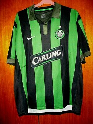 Celtic Football Shirt Nike away 3rd Kit shirt 2006/7 size XL 45/47