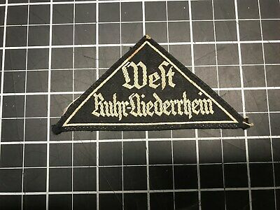 Hitler Youth BDM Sleeve Triangle