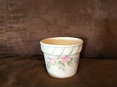 Vintage Pfaltzgraff Tea & Roses Candle/Flower Pot