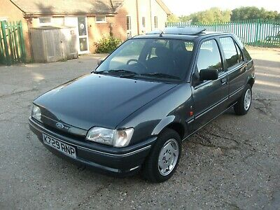 1993 Ford Fiesta 1.3 Ghia Automatic In Levante Grey With Only 22,354 Miles & Mot