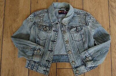 Girls Denim Jacket New Look  Fit 12-13 Year Old (Size 12)