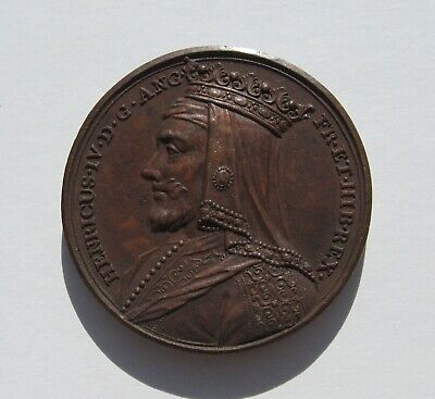 Henry IV Bronze Medal 1731 Dassier Kings & Queens Of England