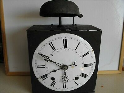 antique wall clocks pre 1900 Morbier longcase, French