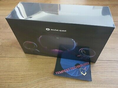 Oculus Quest 128GB VR Headset - BRAND NEW / SEALED - Fast dispatch