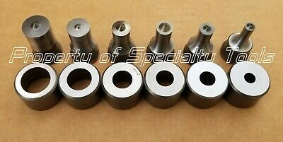 Enerpac Hydraulic SP-35 replacement punch die set 1/4 5/16 3/8 1/2 5/8 3/4 NEW