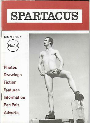 Sparticus Monthly N0.16# (Circa 1970) Rare / Gay Interest, Vintage, Physique