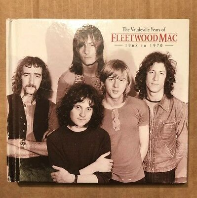 Fleetwood Mac (2CD Album) The Vaudeville Years 1968 To 1970 - very rare Vgc