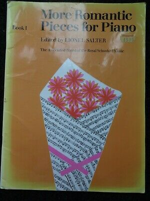 More Romantic Pieces for Piano Edited by Lionel Salter Book 1 ABRSM Grade 1/2