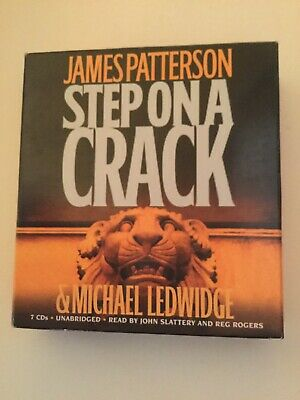 Step on a Crack by James Patterson and Michael Ledwidge (2008, CD, Abridged,...
