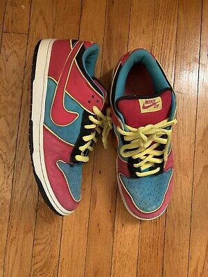 2009 Nike SB Dunk Low Ms. Pacman size 12 chlorine blue | TRUSTED SELLER!