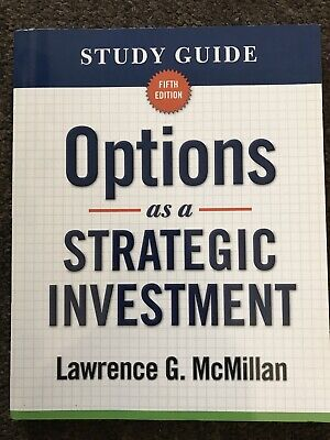 NEW - Study Guide for Options as a Strategic Investment 5th Edition Like New
