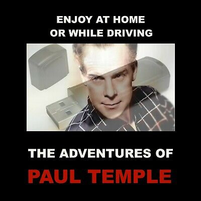 The Adventures Of Paul Temple. 41 Hours Of Bbc Old-Time Radio Whodunnit Mystery