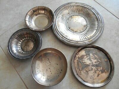 Over One Pound Marked Sterling Silver Scrap  Lot Not Weighted