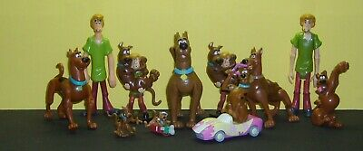 ScoobyDoo Lot Of 11 Figures