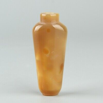 Chinese Exquisite Handmade agate snuff bottle