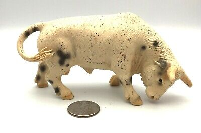 Schleich WHITE RODEO BULL Cow 13613 Figure 2005