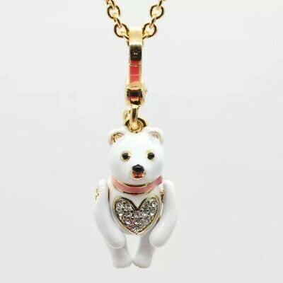 Juicy Couture White Bear Charm