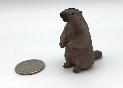 Schleich MARMOT Animal Figure Retired 14230 Rare!