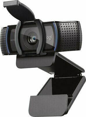 Logitech C920s Pro HD 1080p Webcam with Privacy Shutter In hand