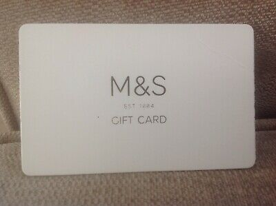 M and S gift card with £50 left on it.