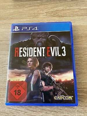 Resident Evil 3 Ps4 Top Zustand Playstation 4