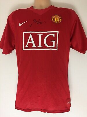 RARE Sir Alex Ferguson Manchester United Signed Shirt + COA PROOF AUTOGRAPH 2008