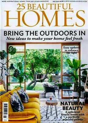 25 Beautiful Homes Magazine Issue May 2020 ~ New ~