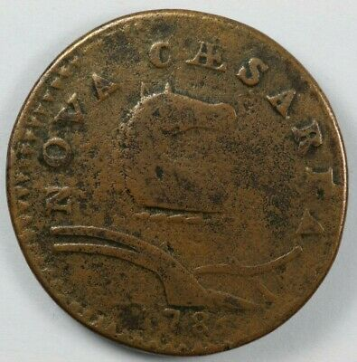 1786 New Jersey Colonial Copper - Maris 21-P R.5