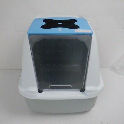 Catbox White And Blue *Used*