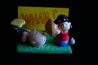 Peanuts Collectible Charlie Brown and Lucy Salt and Pepper Shakers