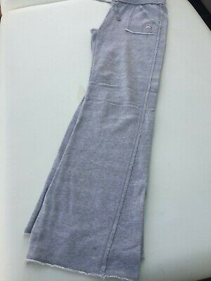 Gap Grey Girl Casual School P.e Sport Track Suit Jogging Bottoms Pants Age 10-11
