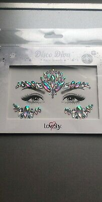 Face Gems Adhesive Glitter Tattoo Body Jewel Make Up Festival Rave Party Wedding