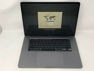 MacBook Pro 16-inch Space Gray 2019 2.3GHz i9 32GB 1TB 5500M 8GB Excellent Cond.