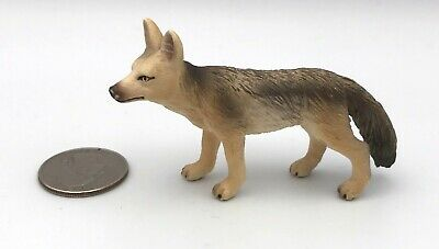 Schleich JACKAL 2004 Wild Animal Figure Retired 14345 Rare!